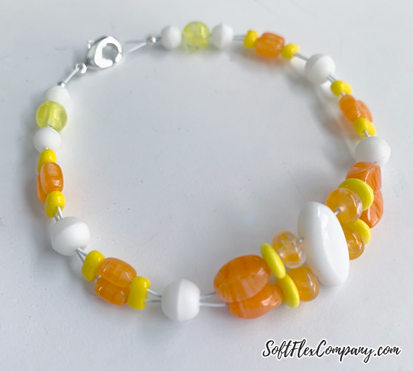 Candy Corn Bracelet by Kristen Fagan