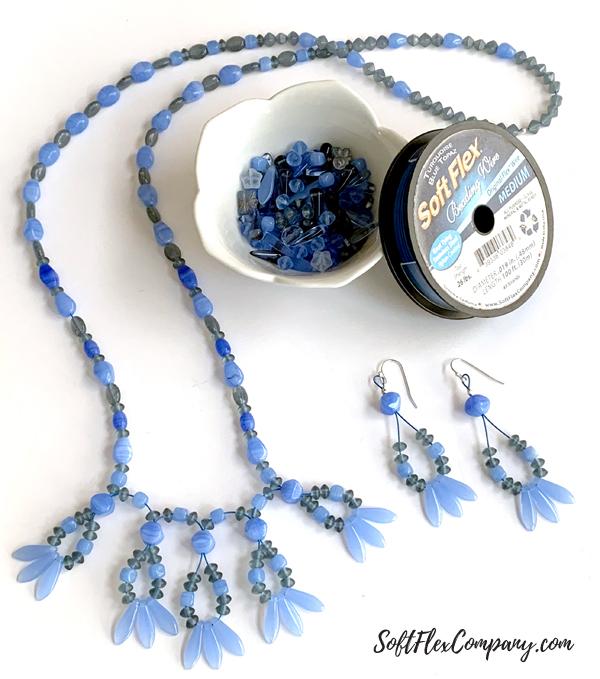 Beaded Dagger Necklace by Kristen Fagan