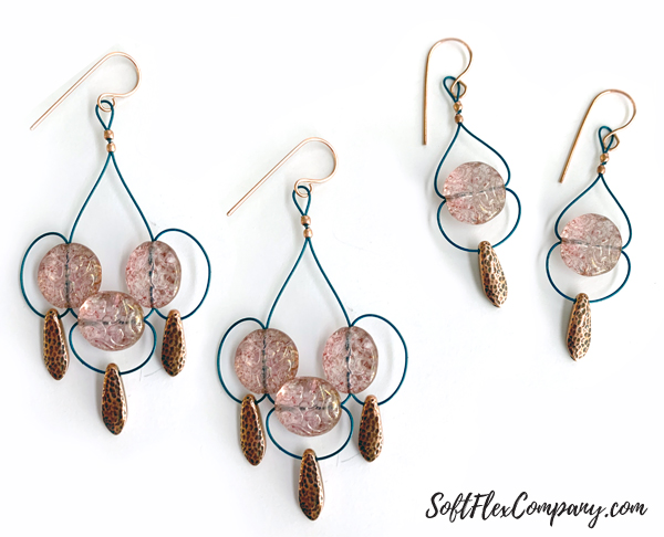 Modern Chandelier Style Earrings by Kristen Fagan