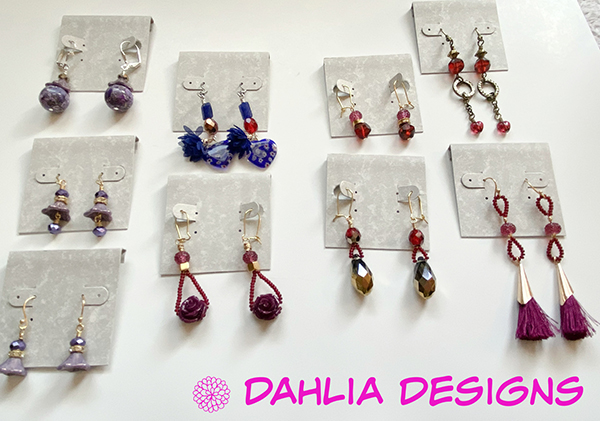 Valentine Passion Earring Buffet by Deb Houck