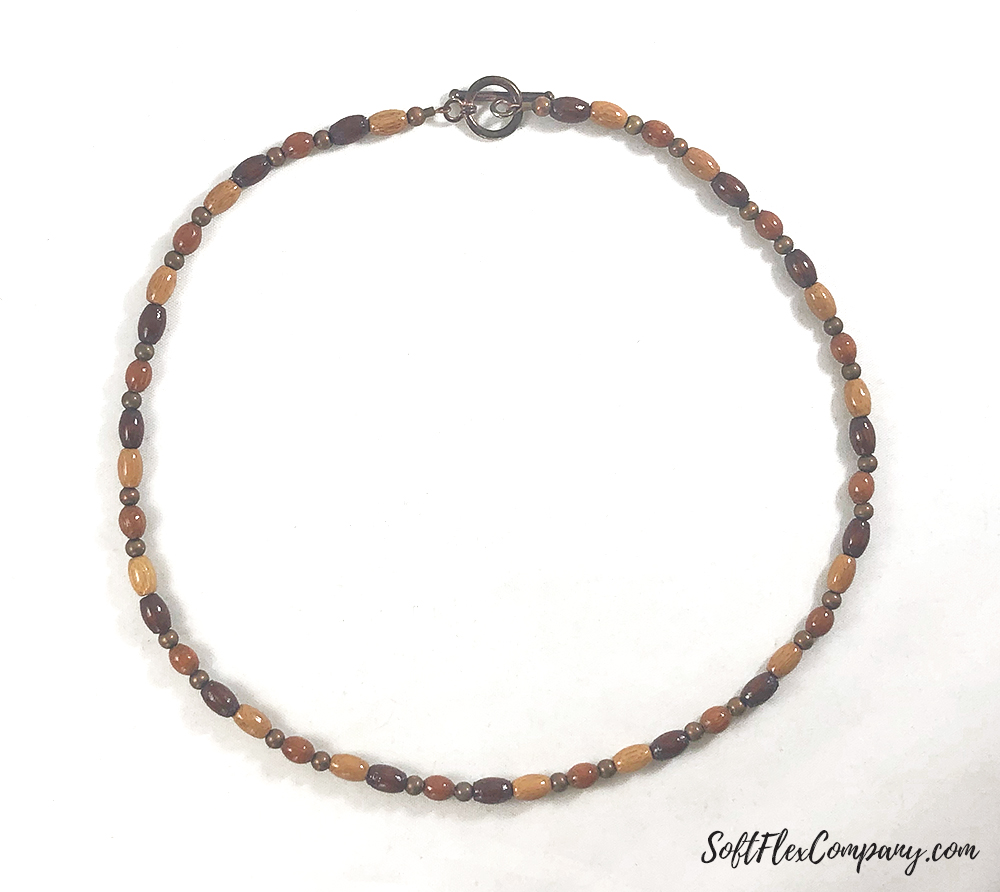 Men's Copper and Bamboo Necklace by Damien Shay