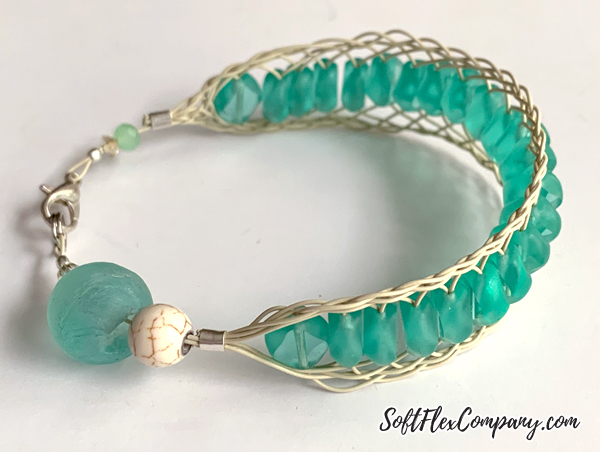 Flat Braid Kumihimo Bracelet by Kristen Fagan