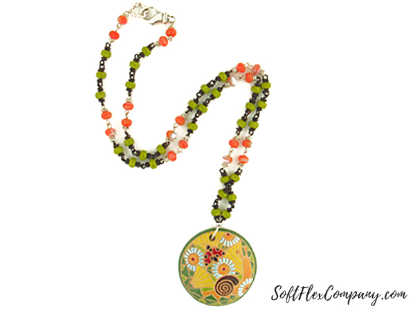 End Of Summer Necklace by Jamie Hogsett
