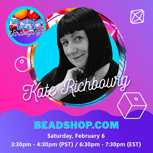Kate Richbourg from BeadShop.com