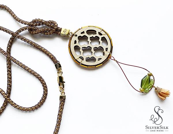 SilverSilk Spice Market Necklace by Nealay Patel