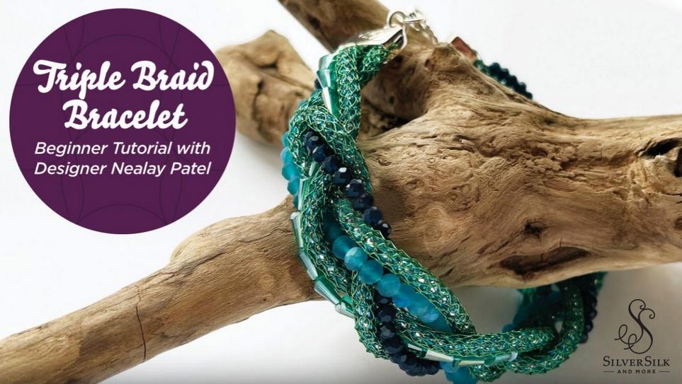 Triple Braid Bracelet by Nealay Patel
