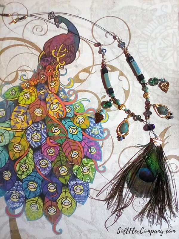 Pretty As A Peacock Jewelry by Sandra Jacobson