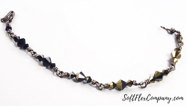 Gun Metal Bracelet by Sara Oehler