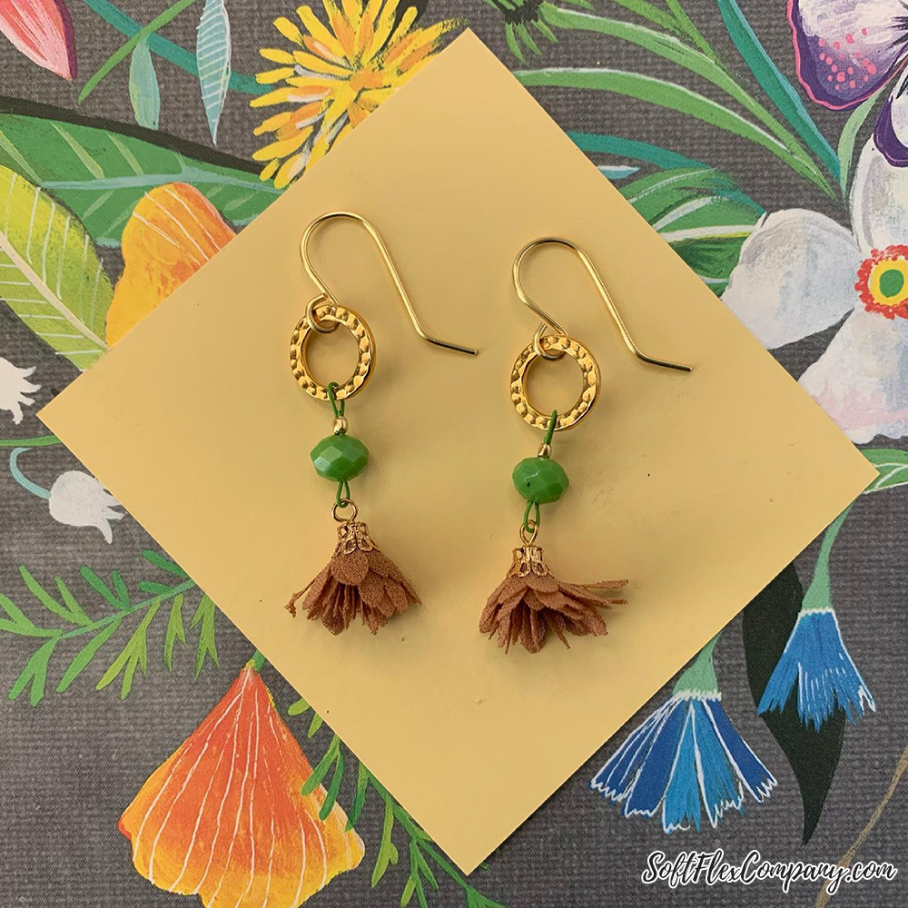 St. Patrick's Day Earrings by Sara Oehler