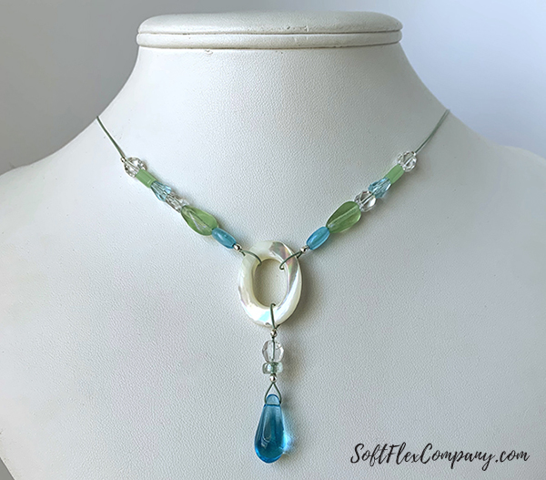Serenity Shore Necklace by Sara Oehler