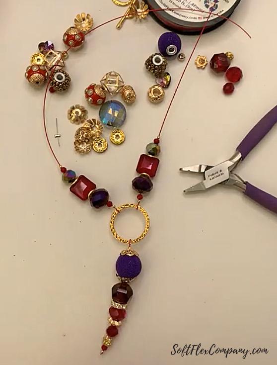 Valentine Necklace by Sara Oehler