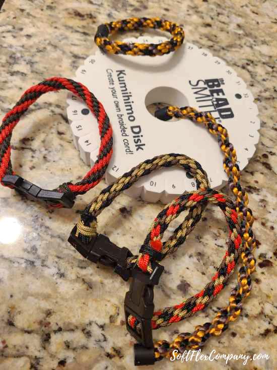Men's Kumihimo Bracelets by Thomas Soles