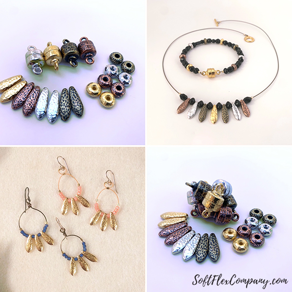 TierraCast Necklace, Bracelet, Earrings and Products Collage